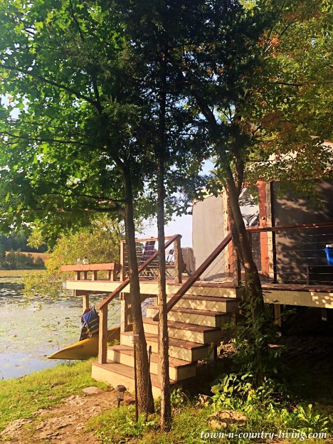 Glamping Yurt Vacation in Cambridge, Wisconsin