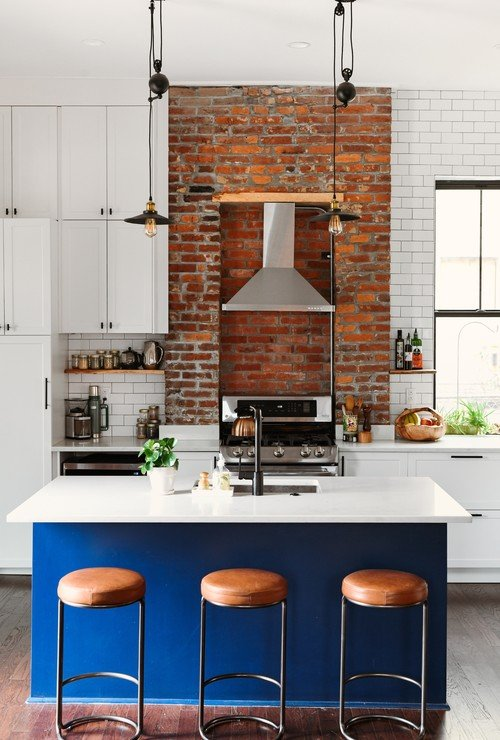 Eclectic Kitchen Renovation in an 1800s Home