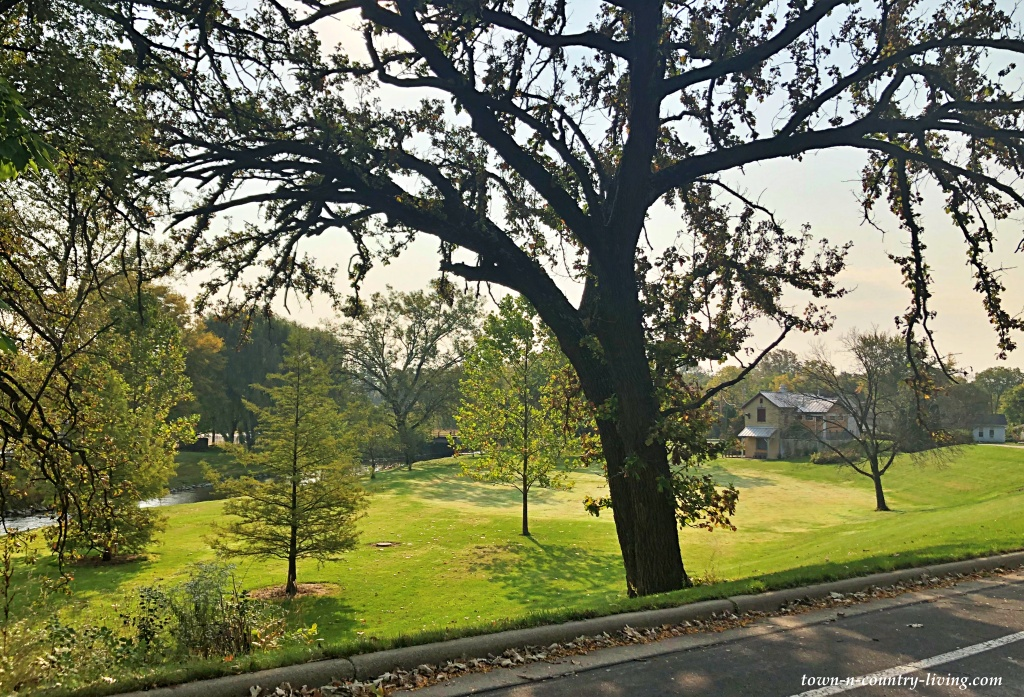 West Side Park in Cambridge, Wisconsin