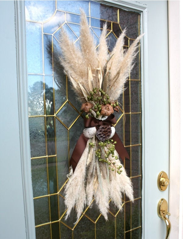 Fall Door Swag by Sand and Sisal