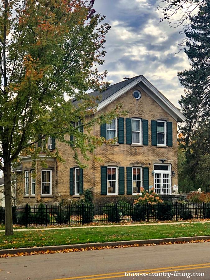 Historic Stone House in Lake Geneva, Wisconsin