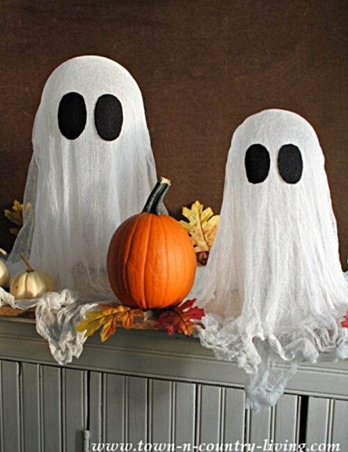 DIY Ghosts for Halloween