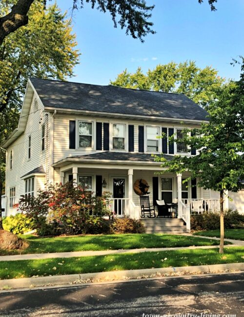 Charming Cambridge Homes - Classic White House with Full Porch