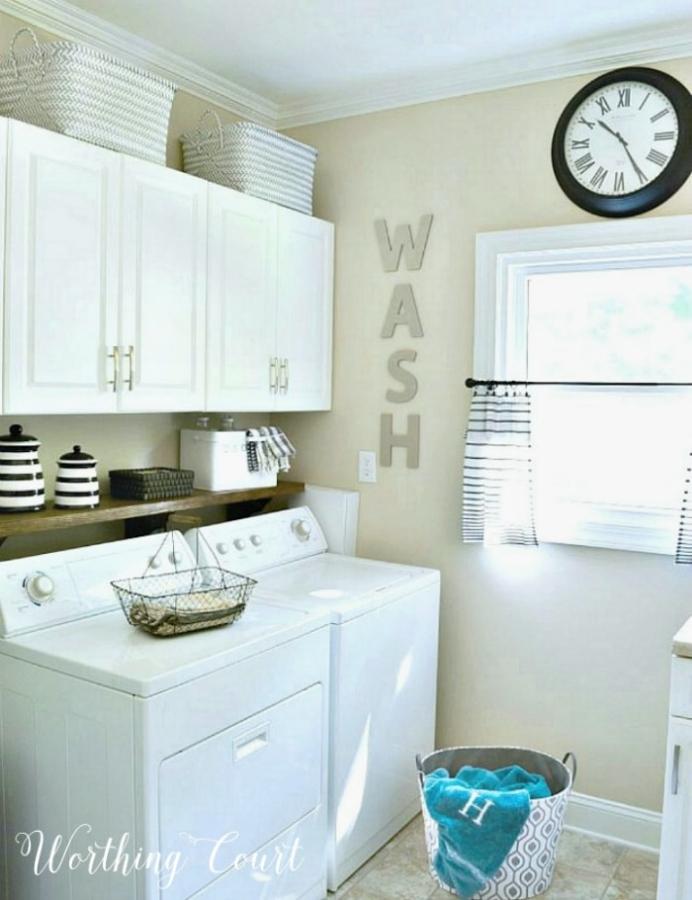 Worthing Court Laundry Room