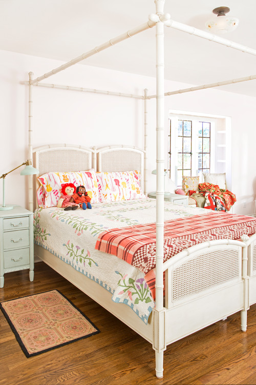 Young Girls Country Style Bedroom