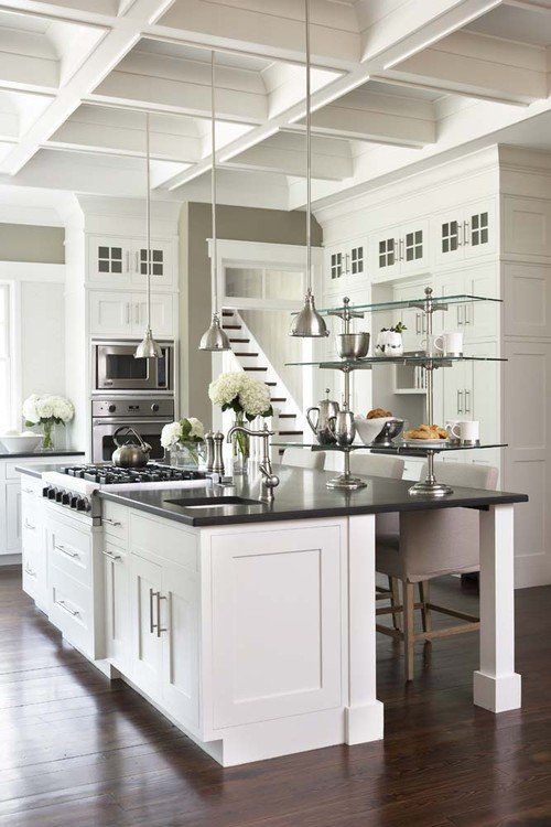Southern Style Kitchen in Low Country Home
