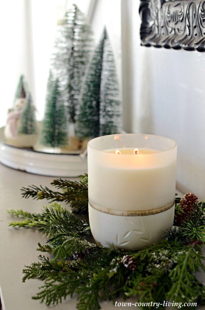 Cedar Balsam Christmas Candle