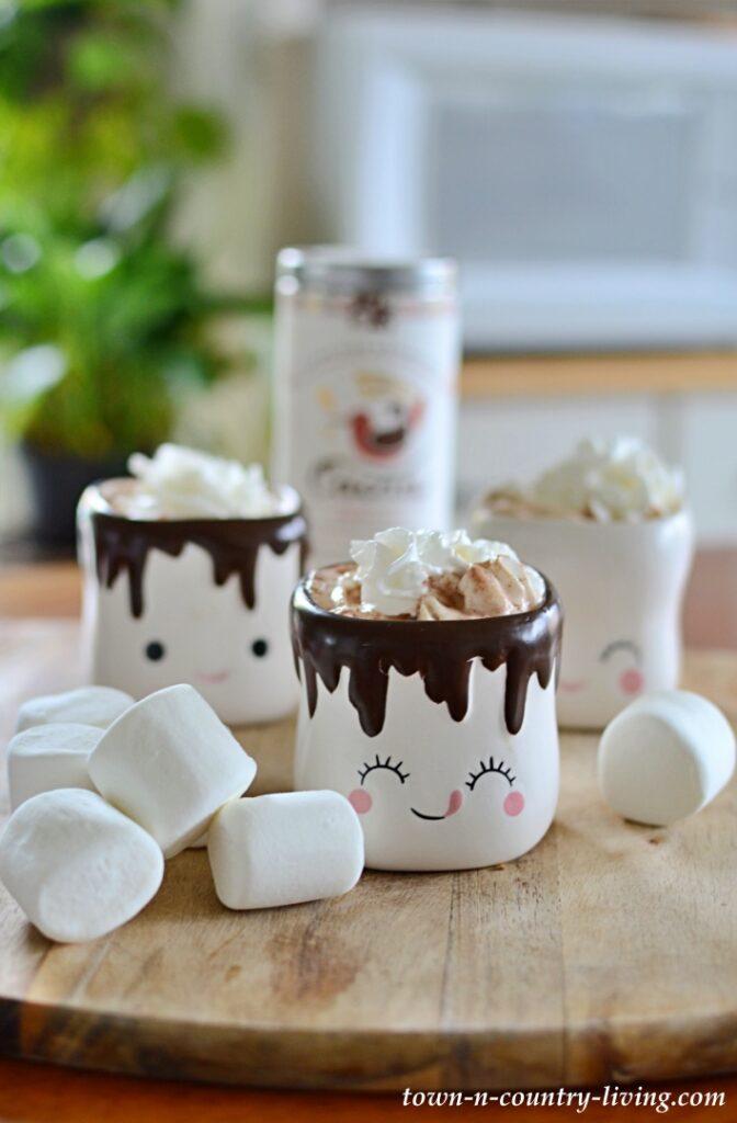 Cutest Hot Chocolate Mugs - Marshmallow Mugs