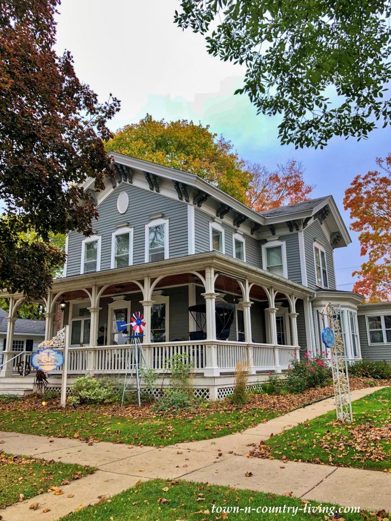 Light Grey Victorian Home