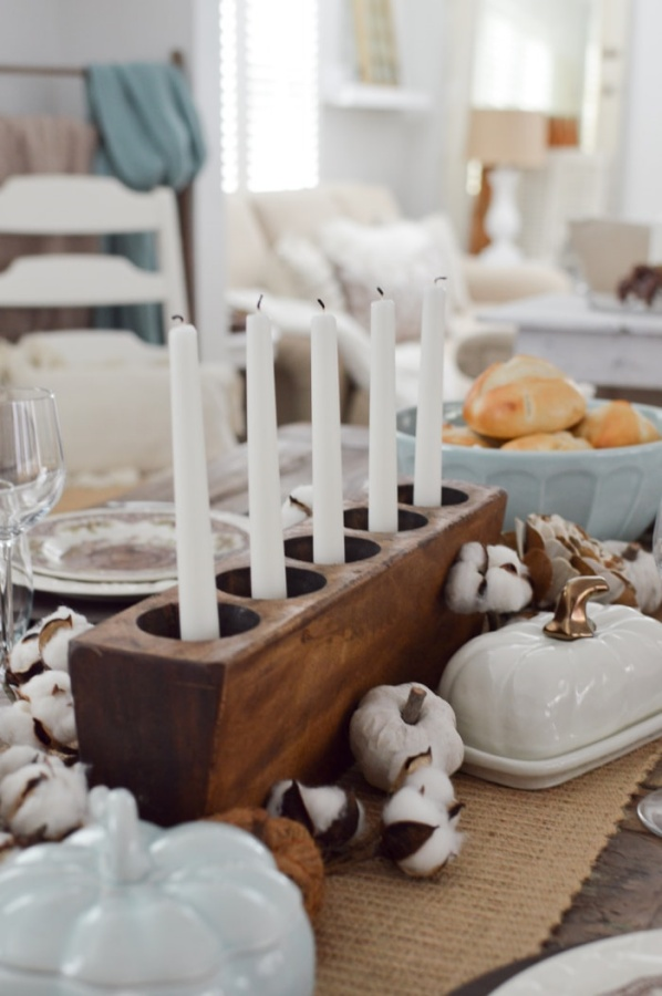 Thanksgiving Centerpiece by Fox Hollow Cottage