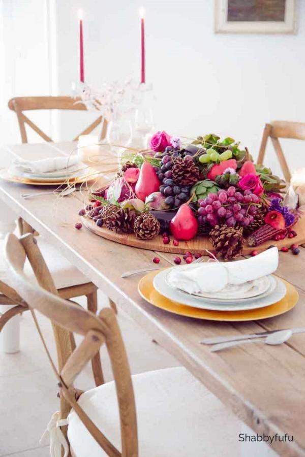 Thanksgiving Centerpiece by Shabbyfufu
