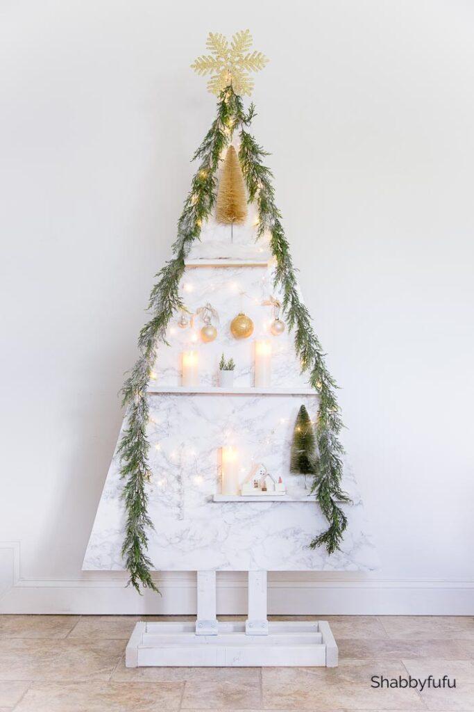 Wood Christmas Tree by Shabbyfufu