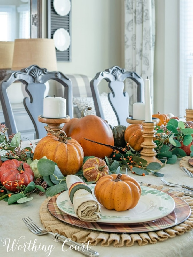 Thanksgiving Table by Worthing Court