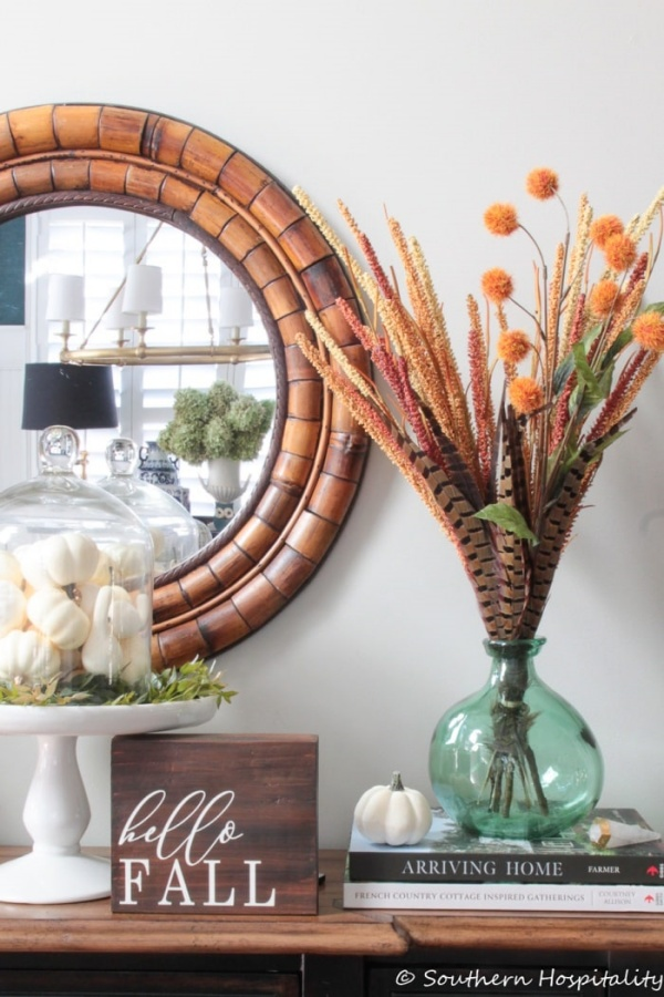 Fall Decorating by Southern Hospitality
