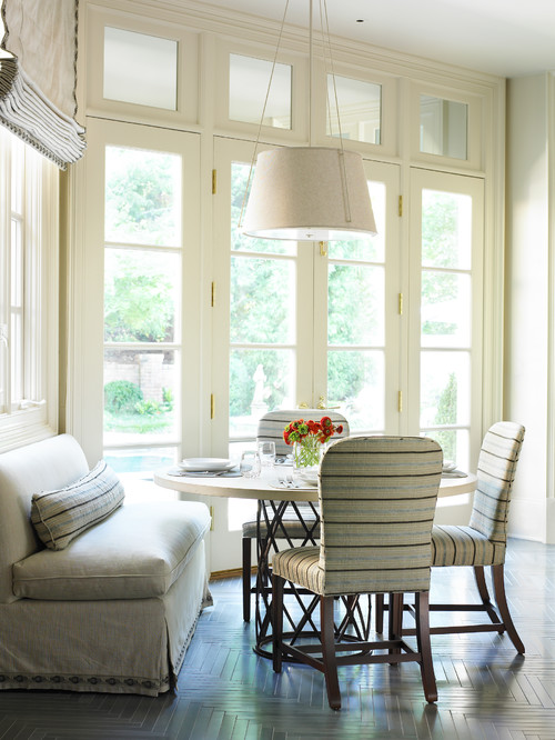 Beach Style Dining Room in Long Island