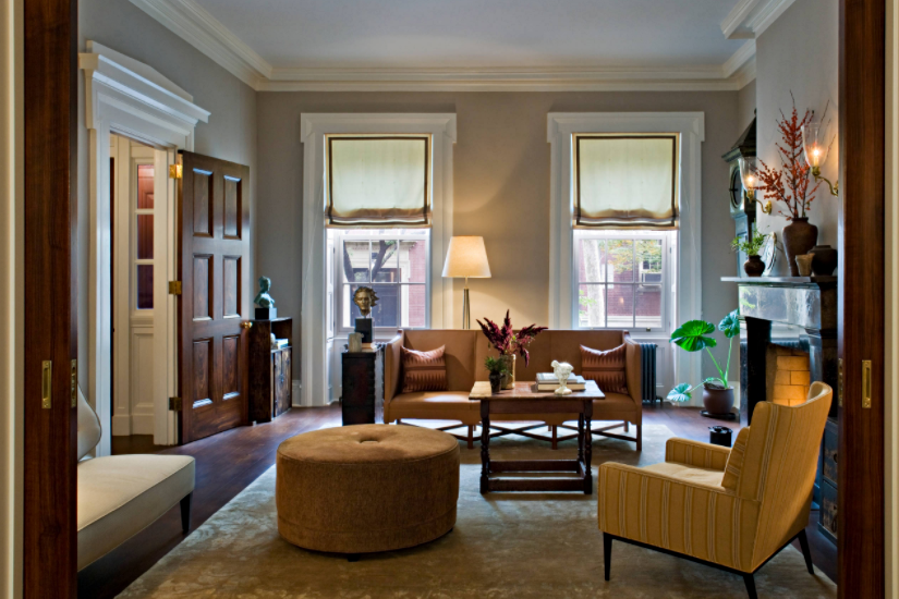 Living Room in Historic New York Town House