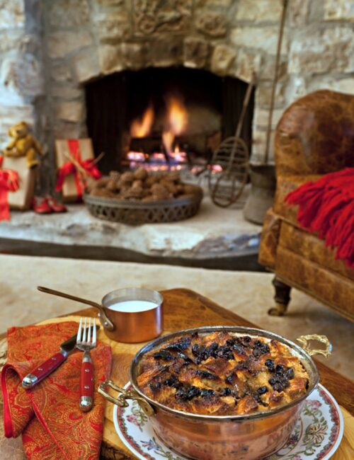Bread Pudding Recipe from The Romantic Prairie Cookbook