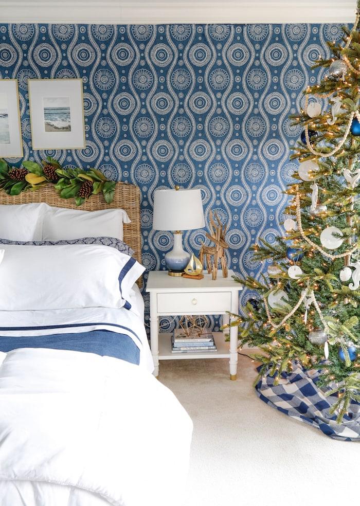 Christmas Bedroom by Sand and Sisal