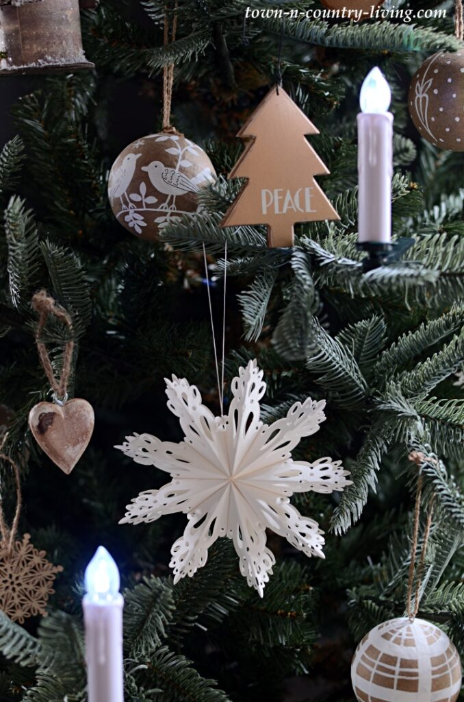 Scandinavian Style Christmas Ornaments