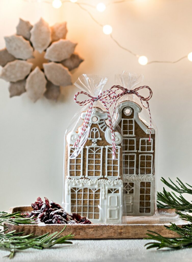 Gingerbread houses in Nordic design