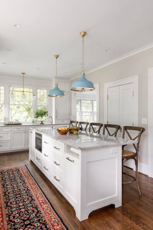 Atlanta Kitchen Renovation - from dark to light and bright