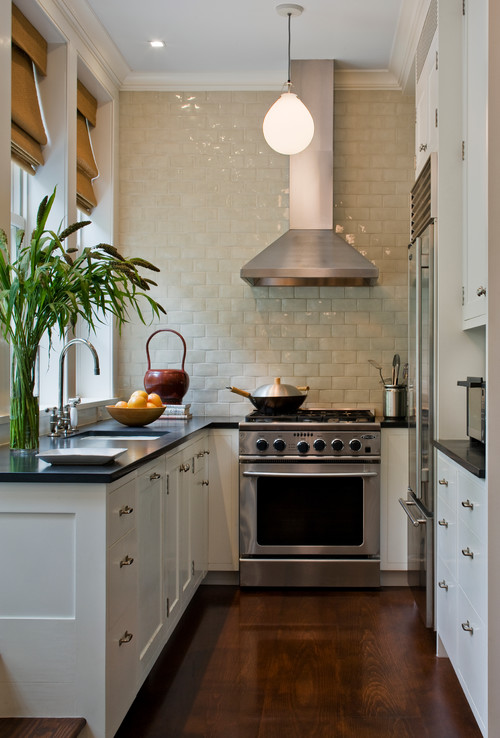 Small Kitchen in Cozy City Townhouse