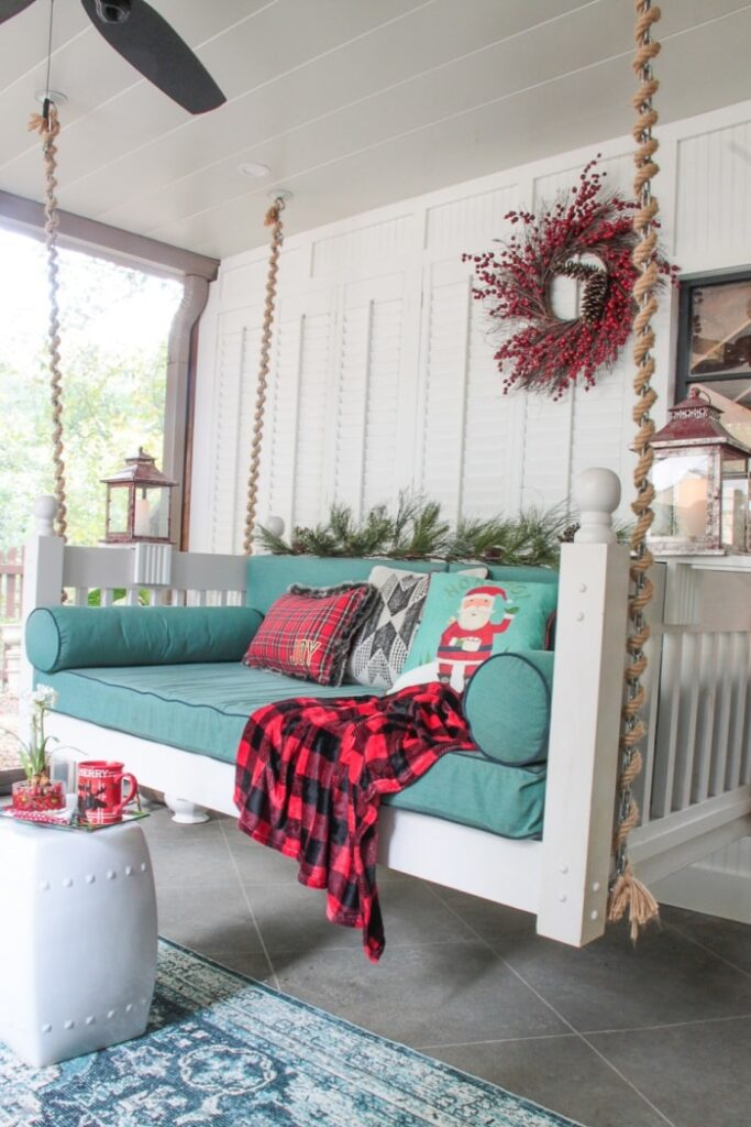 Christmas Porch by Southern Hospitality