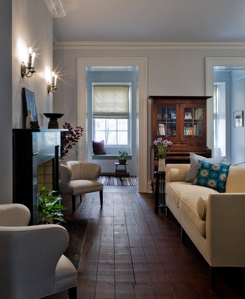 Living Room in New York City Townhouse