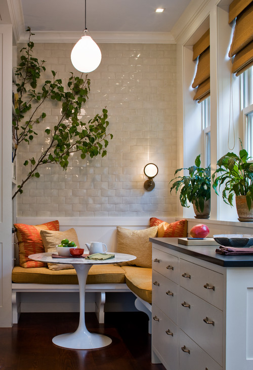 Breakfast Nook in Small  City Townhome