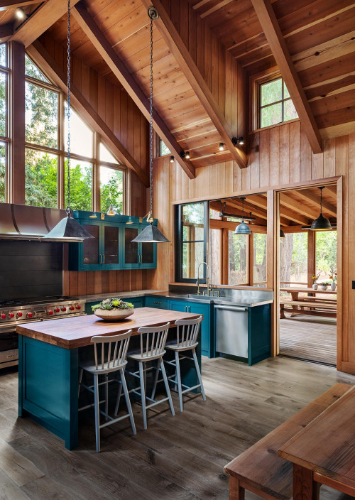 Cabin in the Woods Kitchen