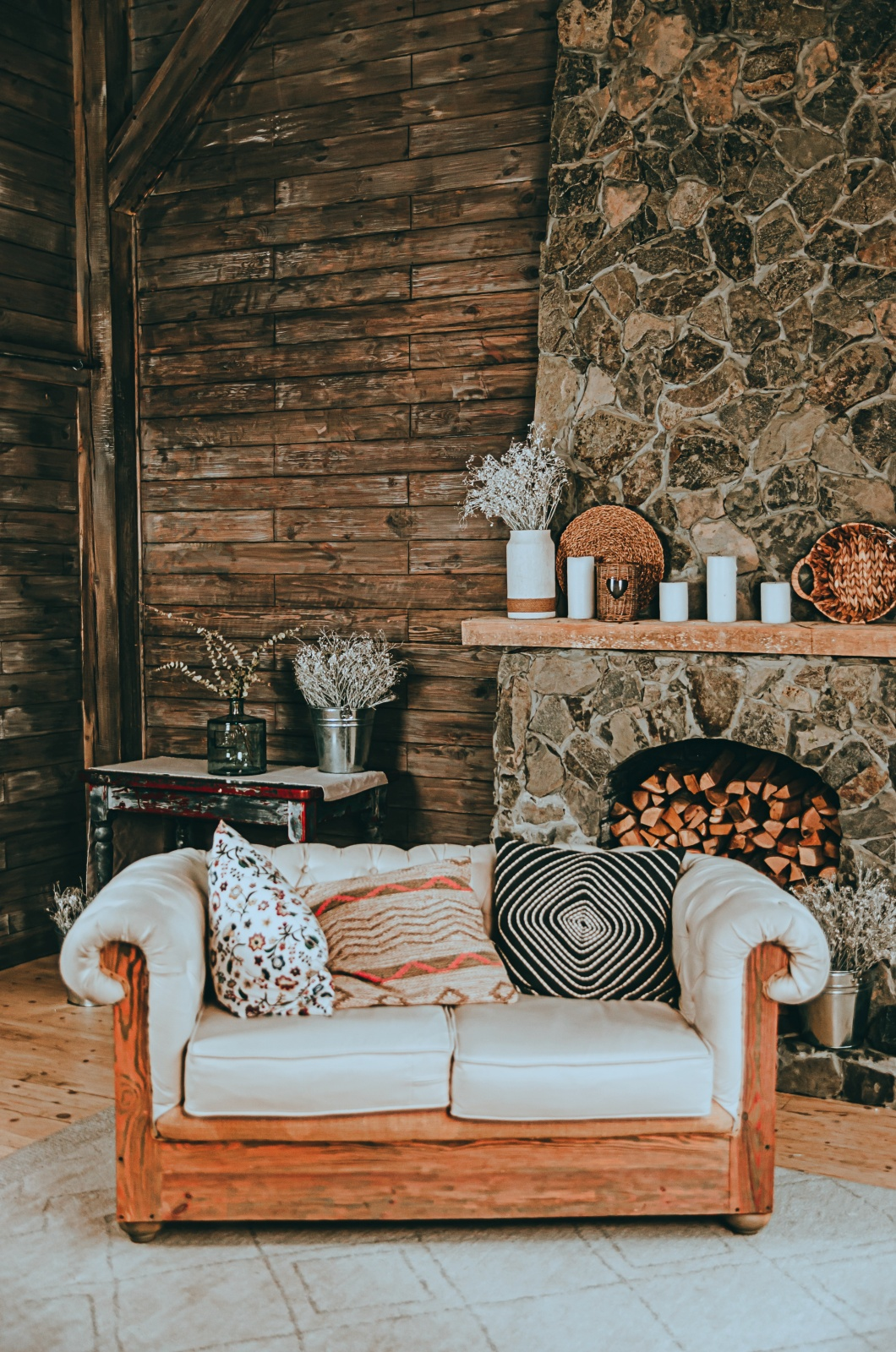 Cabin Style Decorating Ideas Town Country Living