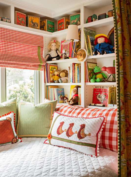 Colorful and Eclectic Girls Bedroom