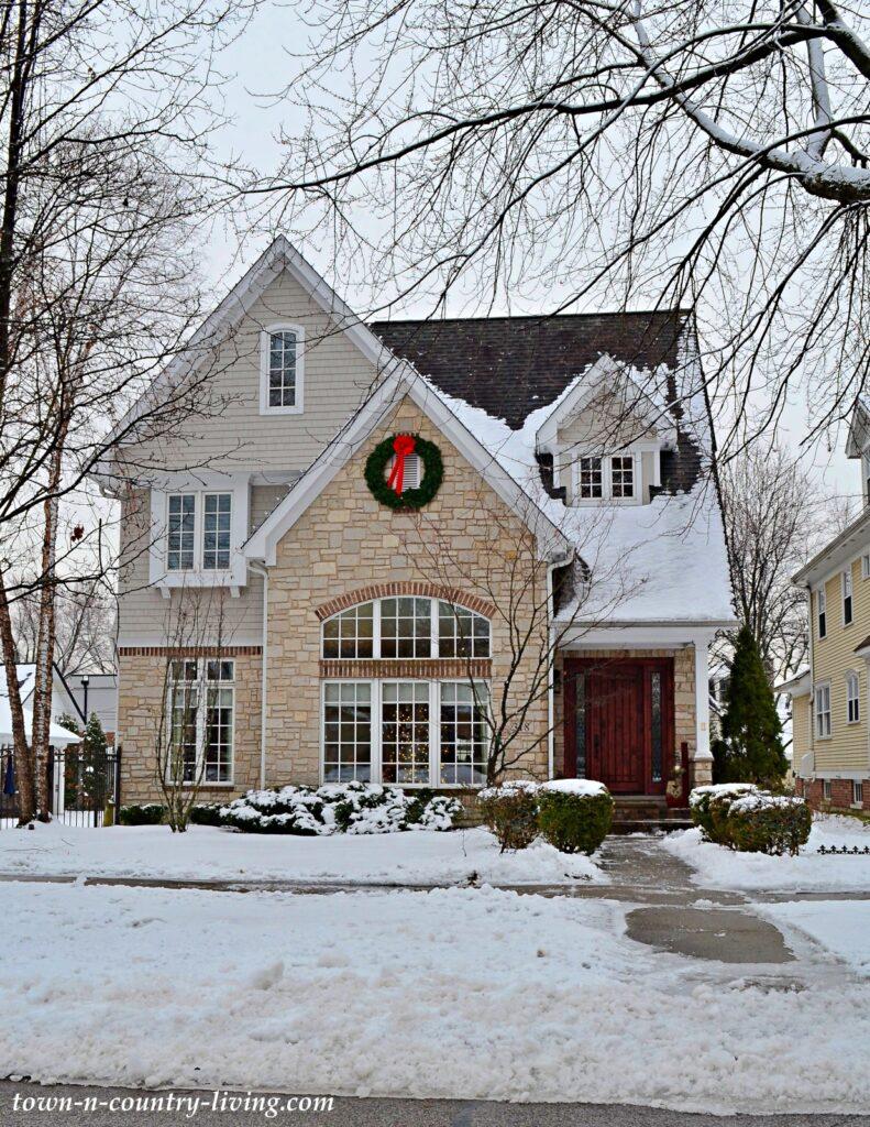 Custom Brick and Siding Home Exterior