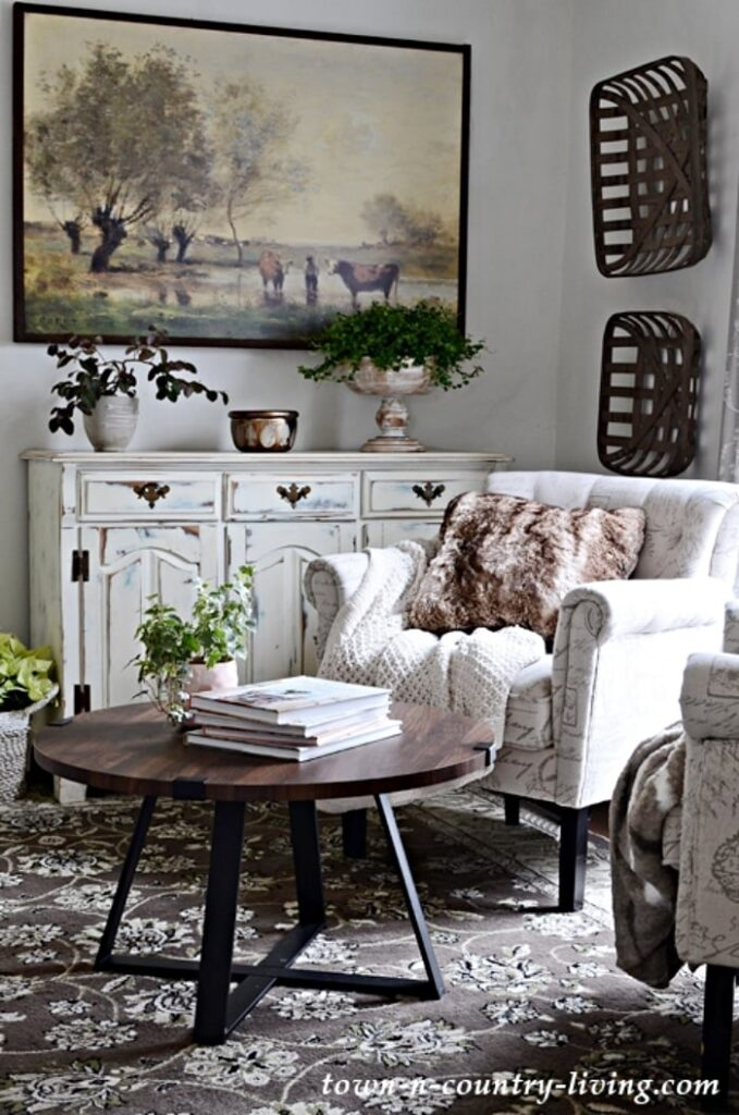 Neutral Toned Sitting Room