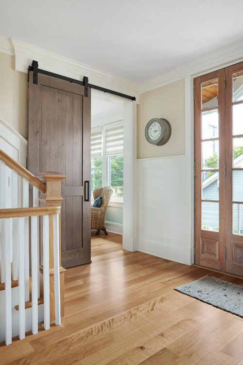 Coastal Style Entryway and Front Hall