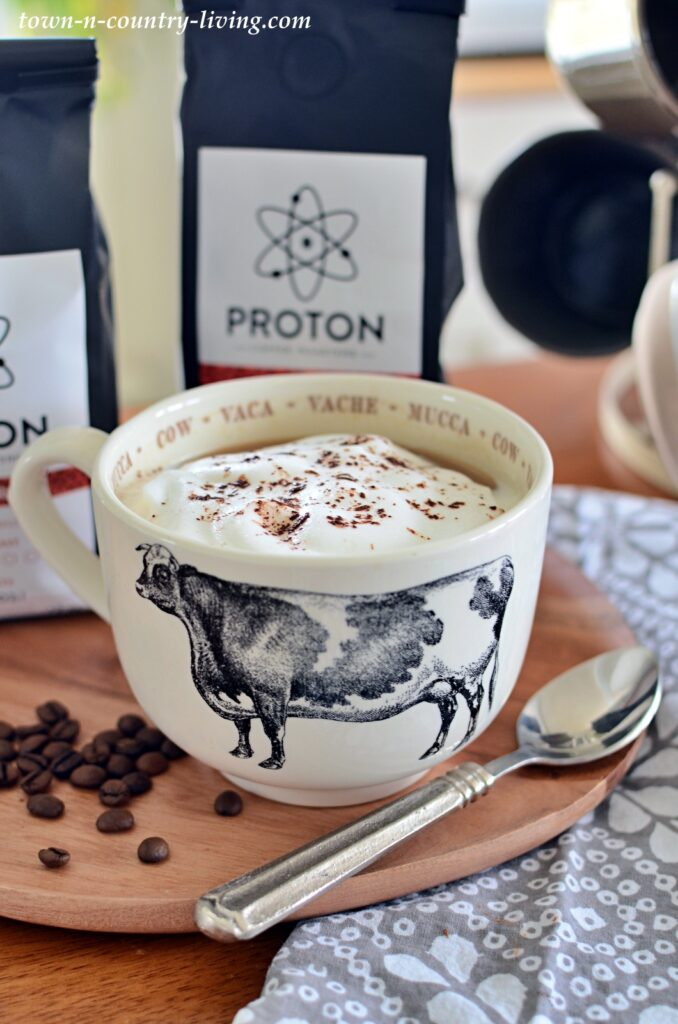 Coffee Latte - how to make without an espresso machine