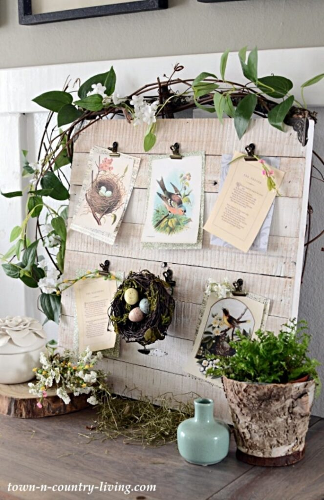 How to Make a Spring Nature Board