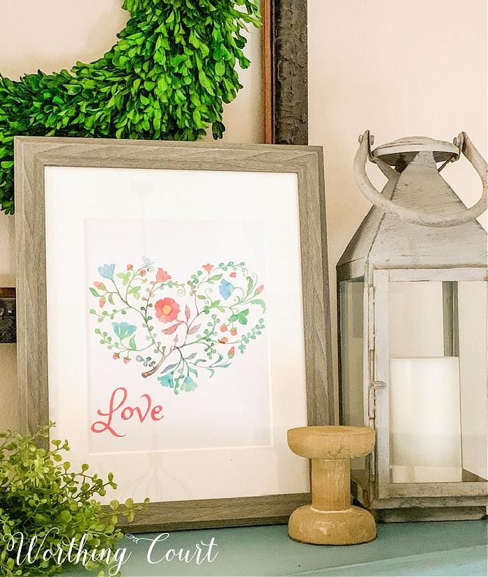 Valentine Art by Worthing Court