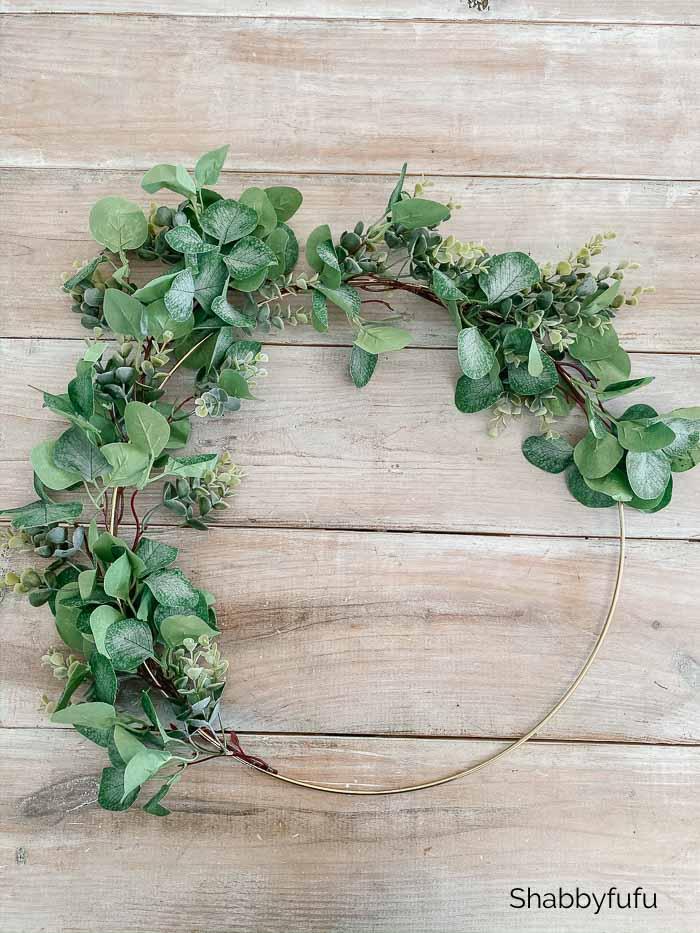 DIY Wreath by Shabbyfufu