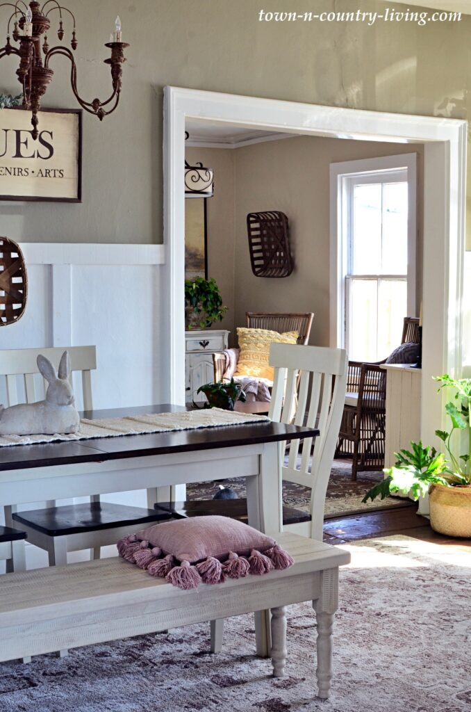 Spring Home Tour - Country Style Dining Room