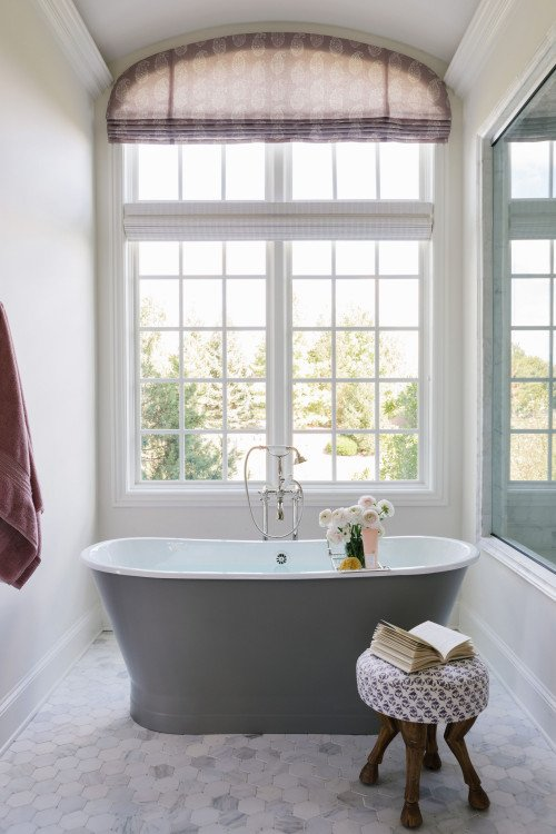 Free Standing Tub Under Window