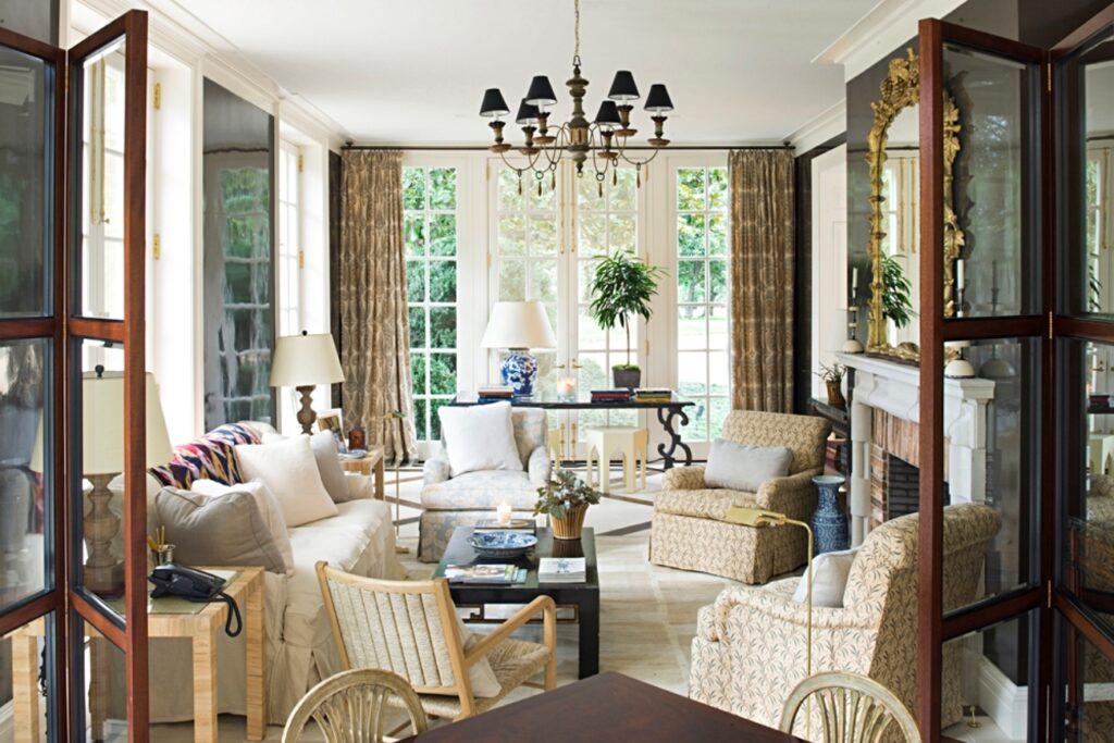 Classic Living Room in Neutral Tones