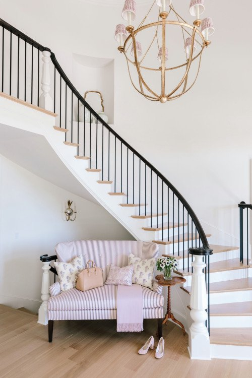 Grand Staircase in Kansas City Home