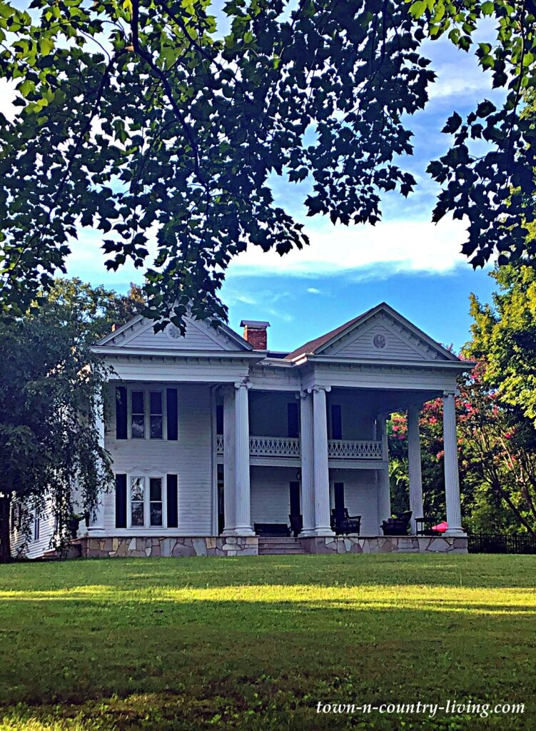 Grand White Southern Home