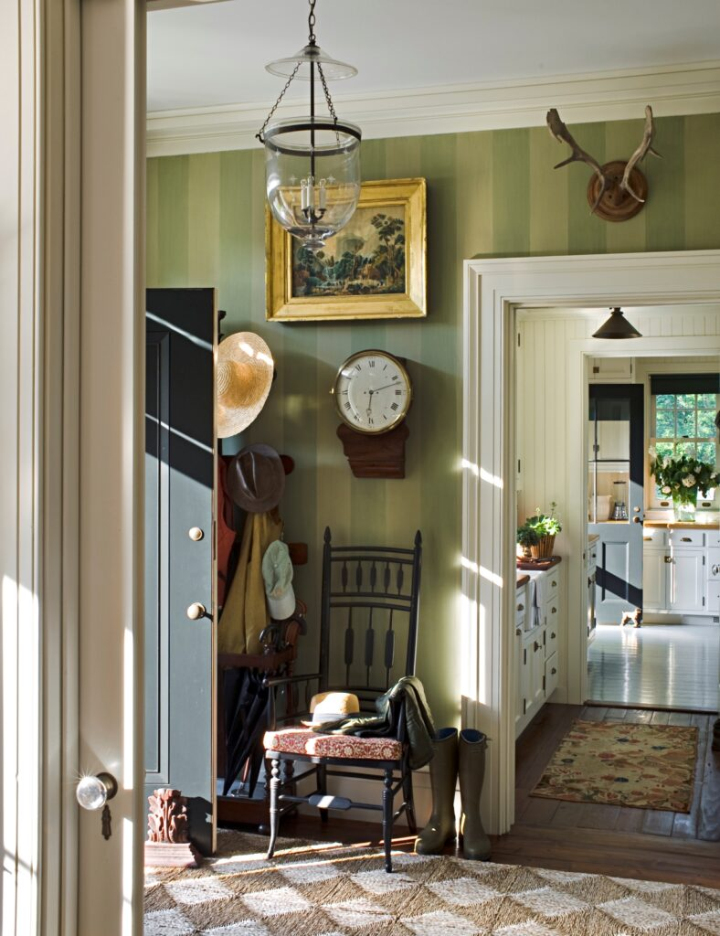 Traditional Home Entryway - The Great American House