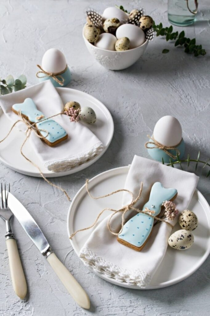 Town and Country Living Easter Table