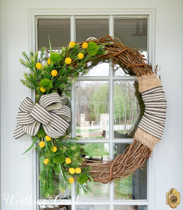 Wreath by Worthing Court