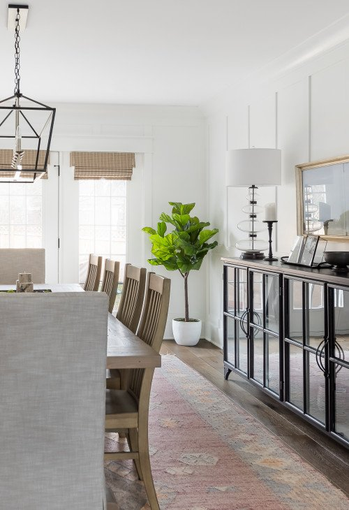 Picture Perfect Home - Farmhouse Style Dining Room