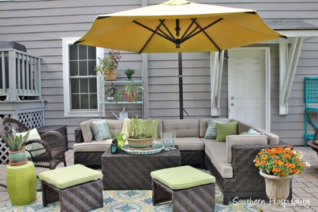 Southern Hospitality Spring Patio