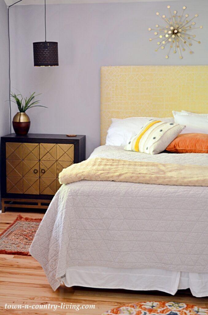 Eclectic Modern Cottage Master Bedroom